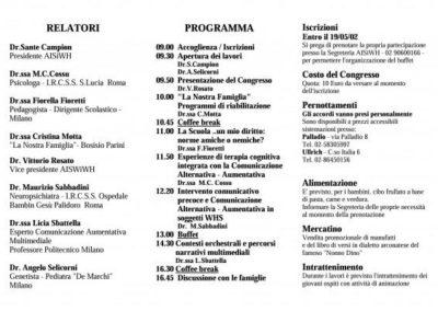 Congresso 2001