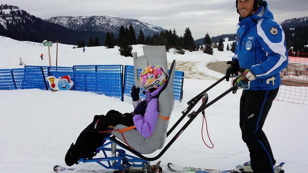 Laura a sciare