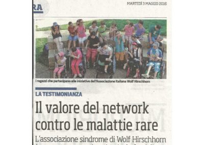 Articolo apparso sul Corriere dello Sport del 03/05/2016