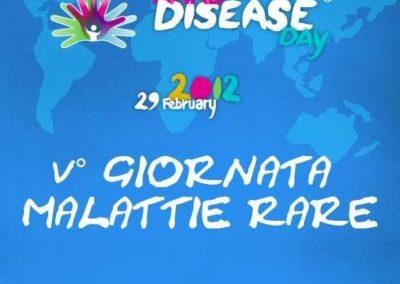 V° Giornata delle Malattie Rare 2012