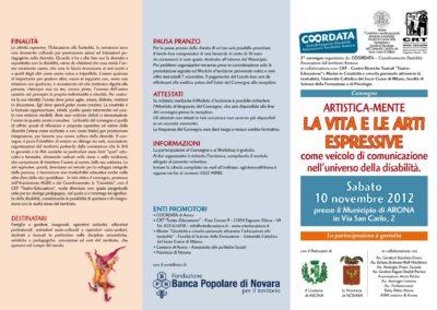 Convegno COORDATA – Arona 10.11.2012